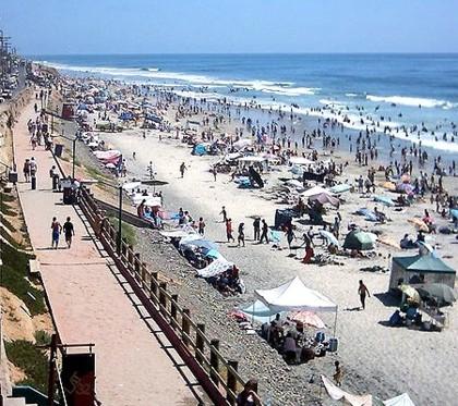 Las playas, atractivos turísticos de Tijuana