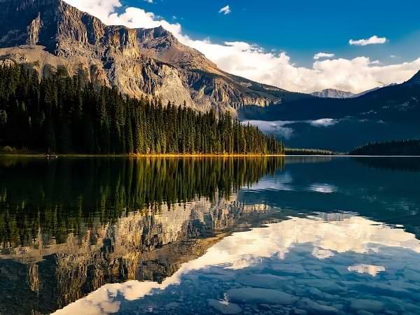 Canadá - Atardecer en el lago