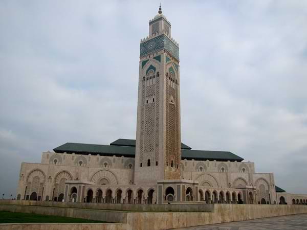 Casa blanca Addar-al-bayda en Marruecos