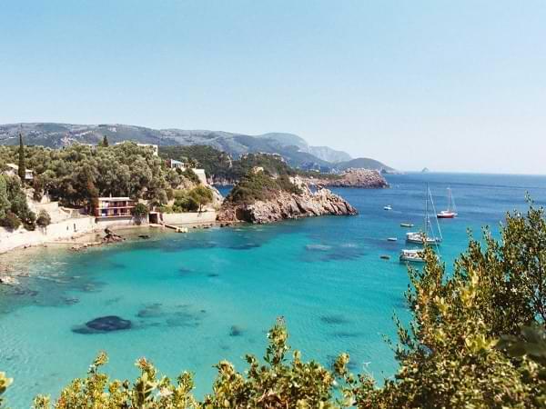 Corfú, paradisíaca isla de Grecia