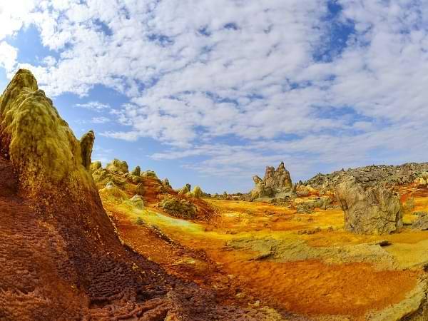 Danakil, desierto de Etiopía