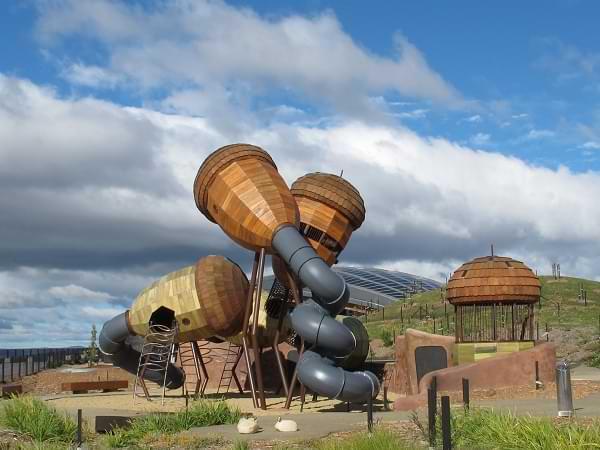 Parque infantil ecológico - Canberra, Australia