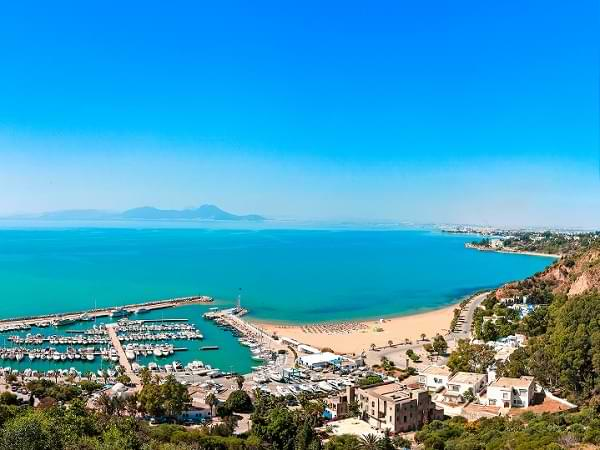 Túnez, África - Costa de playas paradisíacas