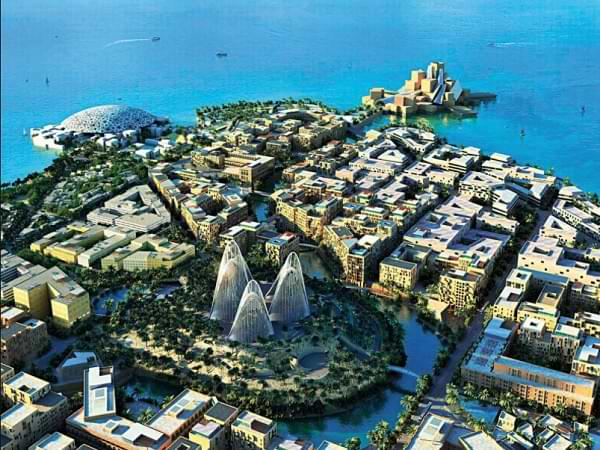 Zayed National - Museo monumento en Abu Dhabi